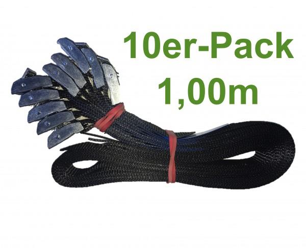 10er Pack Klemmschlossgurt 100cm