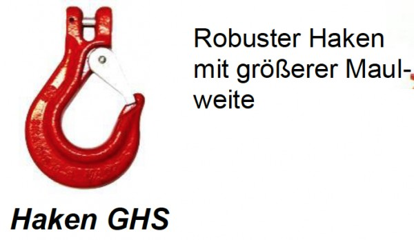 Gabelkopf Lasthaken Typ GHS GK8