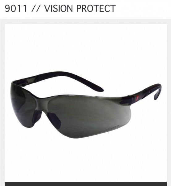 Schutzbrille dunkel 9011