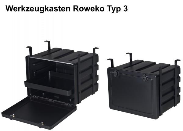 Lkw-Staubox Werkzeugkasten Roweko Typ 3