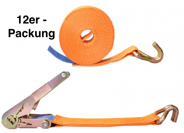 12er Vorteilspackung zum Hammer-Preis 4to 6m Spitzhaken