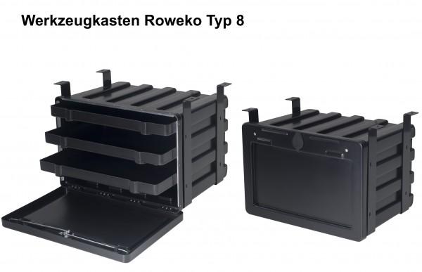 Lkw-Werkzeugkasten Staubox Roweko Typ 8