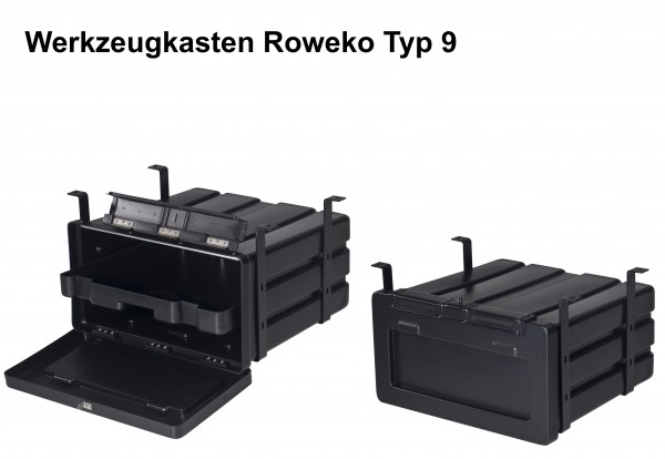 Werkzeugkasten Lkw Staubox Roweko Typ 9
