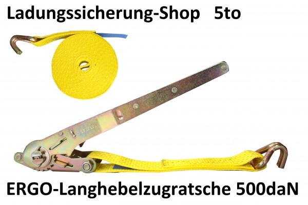 ERGO-Langhebelzugratsche 500daN 12,00m