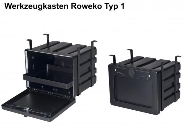 Staubox Werkzeugkasten Roweko Typ 1