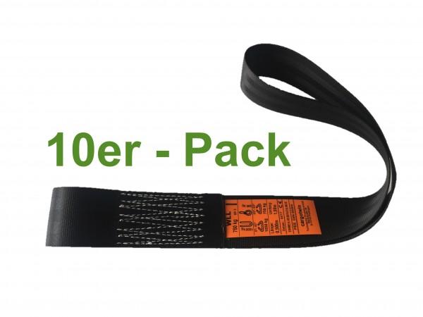 10er-Pack ASG Einweg Hebeschlinge Umf. 100cm 750kg