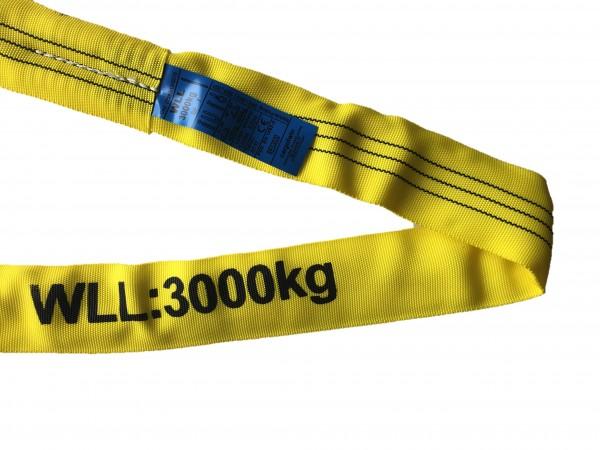 Rundschlinge WLL3000kg Umf. 6,00m
