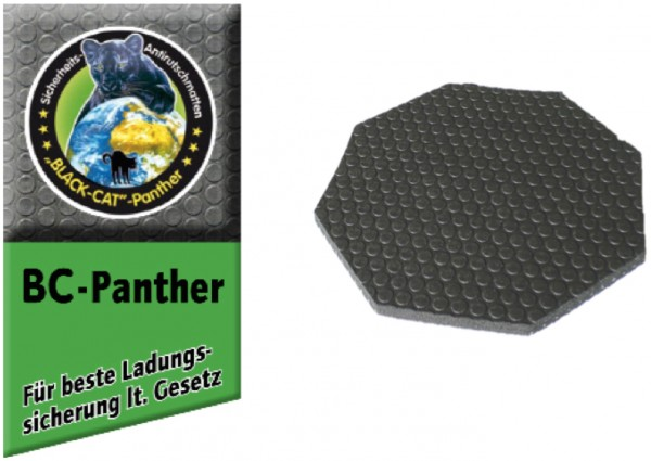 Blackcat-Panther 8-Kant-Pad 15 x 15cm