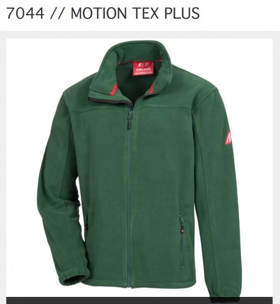 Fleecejacke Motion Tex Plus - Nitras - GRÜN