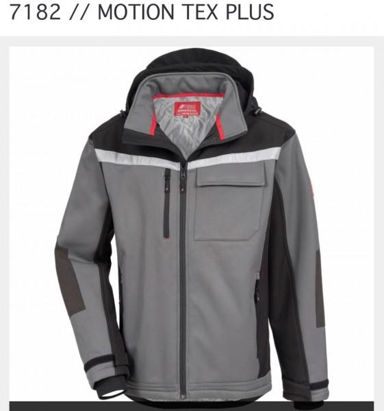 Winter-Softshelljacke Grau Motion Tex Plus